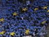 La capitale spagnola in attesa dell'onda azzurra al seguito del Napo