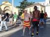 Tifoso giallorosso paga pegno correndo in mutande per Benevento