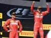 Festa Ferrari in Ungheria, Vettel primo, Raikkonen secondo