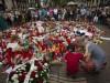 I feretri di Luca e Bruno, le due vittime italiane di Barcellona, avvolti dal tricolore sono giunti a Ciampino