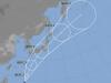 Il tifone Lan - giappone