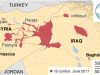 raqqa completamente liberata dall'isis