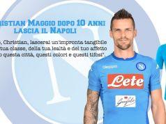 Christian Maggio l'addio a napoli del giocatore