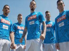 Calcio Napoli: presentata la nuova maglia