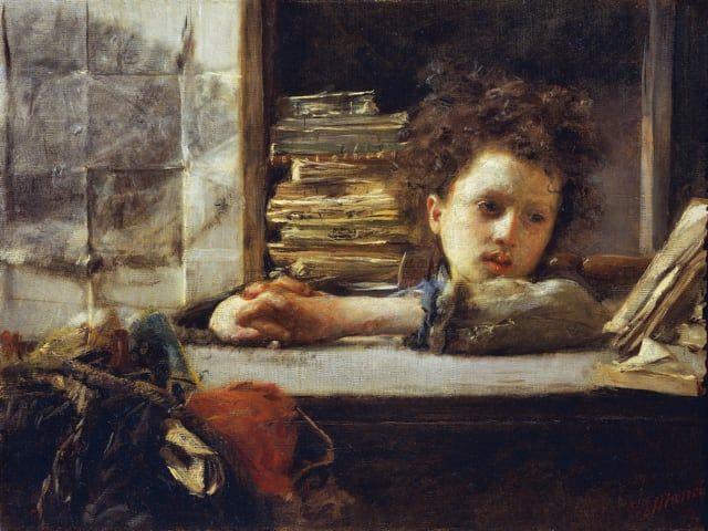 Antonio Mancini, uno dei più illustri pittori dell'Ottocento italiano 3
