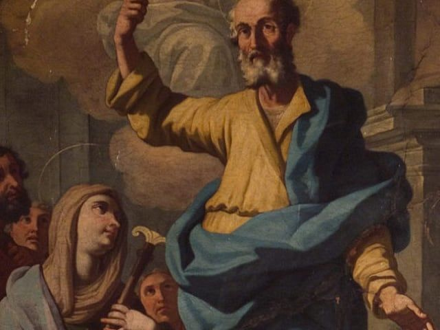 Sant'Aspreno, primo vescovo della Chiesa di Napoli, guaritore del mal di testa
