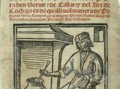 El Libre del Coch, il primo libro di cucina di Ruperto da Nola scritto in