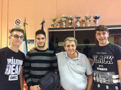 I tre studenti napoletani, veri geni della robotica, potranno partire per l'America grazie al Tg3 Campania-1