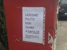 Giulio Di Lorenzo, un giovane friulano, replica ai cartelli offensivi contro Napoli con una lettera-1