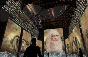 Caserta, Centro Campania visitatori alla scoperta della realtà virtuale di Leonardo da Vinci-1