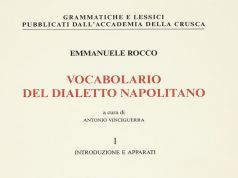Il vocabolario della lingua napoletana pubblicato dall'Accademia della Crusca-1