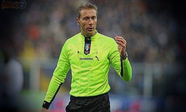 L'arbitro Valeri dirigerà Napoli - Sassuolo