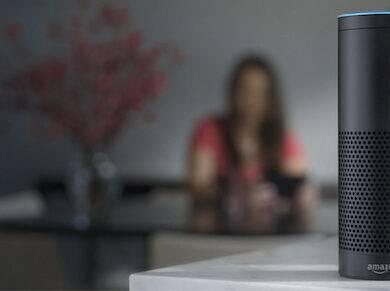 Amazon record con echo