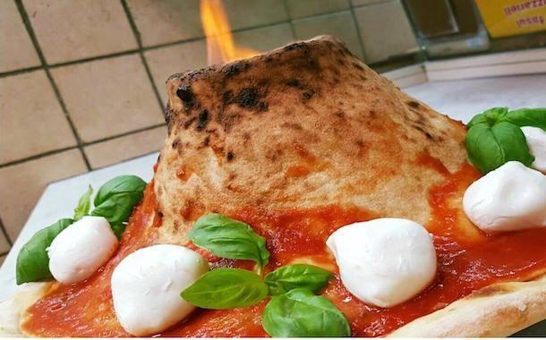 Pizza Vesuvio la nuova creazione pizzaiola