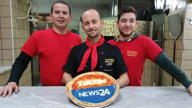 Pizzaiolo Alessandro Avallone il designer della pizza