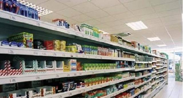 Istat, netto calo delle vendita al dettaglio, anche per gli alimentari, - 0,7%