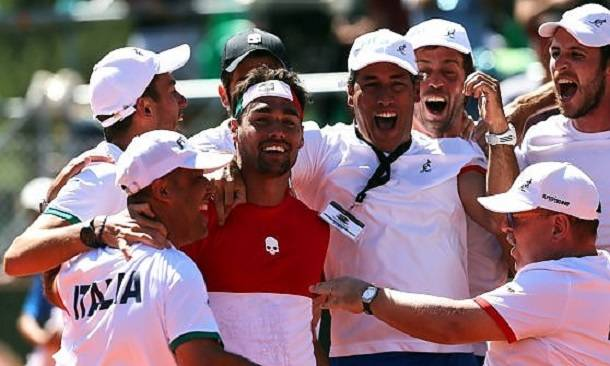 Tennis, Coppa Davis l'Italia fa fuori l'Argentina campione uscente