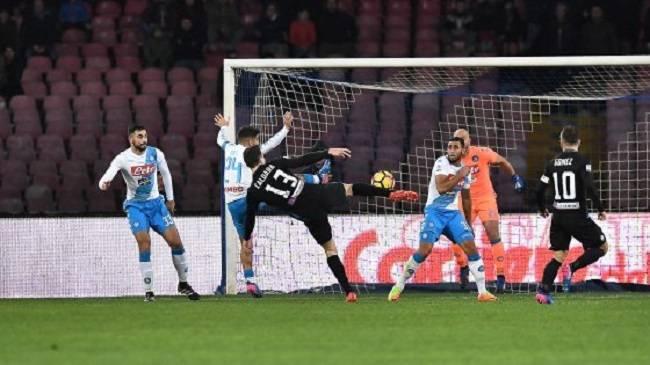 Un Napoli deludente soccombe per 0 a 2, al San Paolo, contro una grande Atalanta