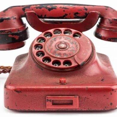 il telefono di Adolf Hitler