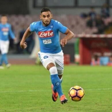 Faouzi Ghoulam sul piede di partenza, sul difensore azzurro si scatena un'asta