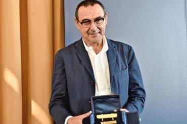 Panchina d'oro per il tecnico del Napoli Maurizio Sarri