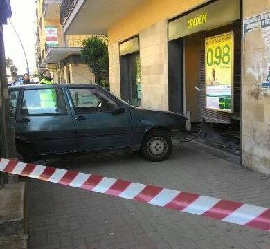 Rapina banca Marano