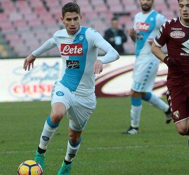 Jorginho, play maker azzurro suona la carica, il Napoli vuole il secondo posto