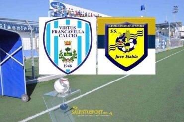 Lega Pro. Virtus Francavilla e Juve Stabia si dividono la posta in palio