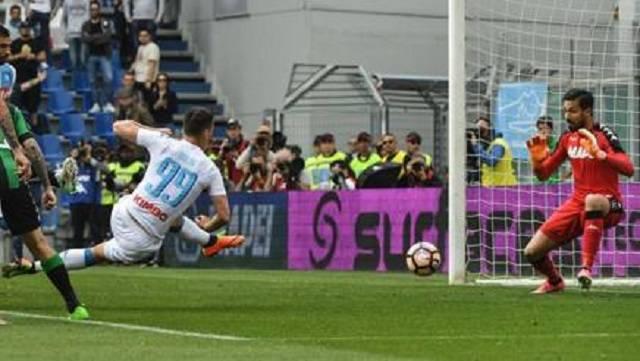 Reggio Emilia: il Sassuolo frena la rincorsa azzurra verso il secondo posto, solo 2 a 2 al novantesimo