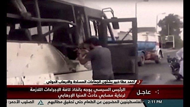 attacco bus di cristiani in egitto