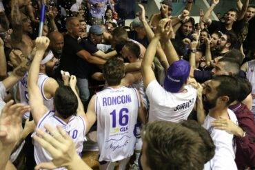 Gara 1 finale play off Basket serie B va a GeVi Cuore Napoli