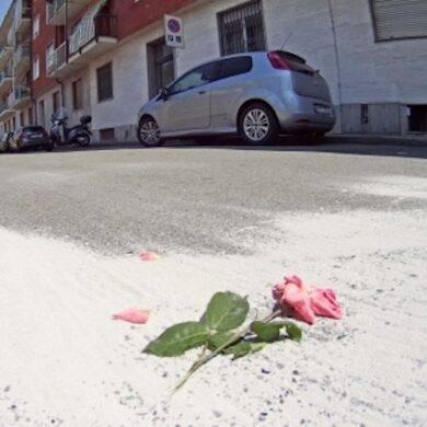 eonato abbandonato in strada