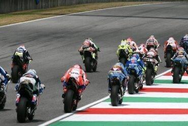Andrea Dovizioso su Ducati vince il Gran Premio d'Italia Moto GP, Rossi solo quarto