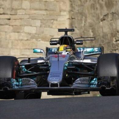 Gp Baku F1, griglia partenza: Hamilton pole position, Ferrari seconda fila