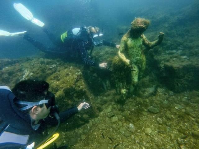 Il Parco Archeologico Sommerso di Baia-1