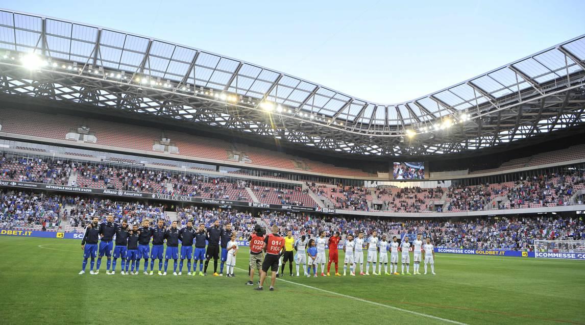 Italia di Ventura batte Uruguay 3 a 0
