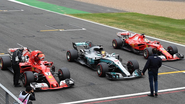 GP d'Inghilterra Formula 1: Hamilton pole, Ferrari insegue