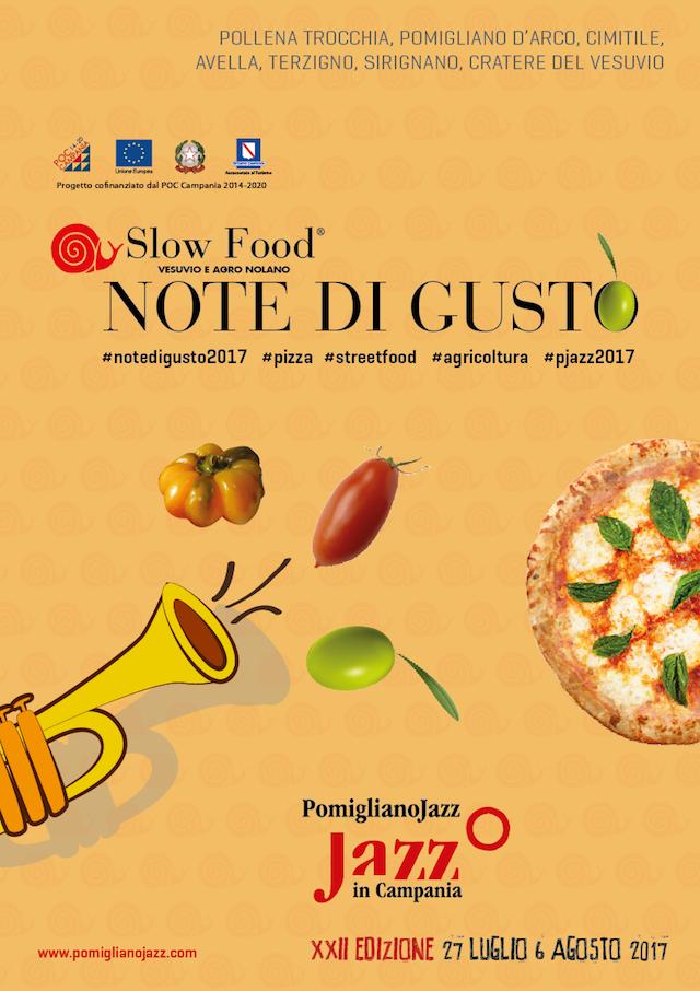 Note di Gusto- Pomigliano Jazz in camapnia