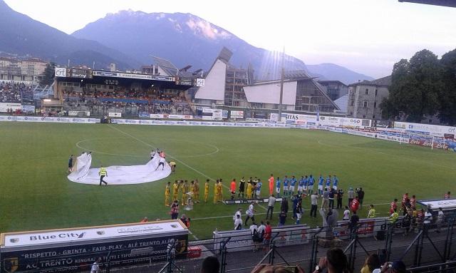 Napoli-Carpi, terza amichevole precampionato in Trentino