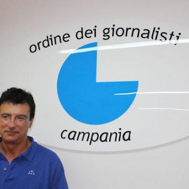 Vincenzo De Luca-ODG presidente Ottavio Lucarelli