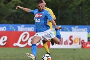Amichevole Bassa Anaunia vs Napoli: azzurri a valanga, Mertens sestina