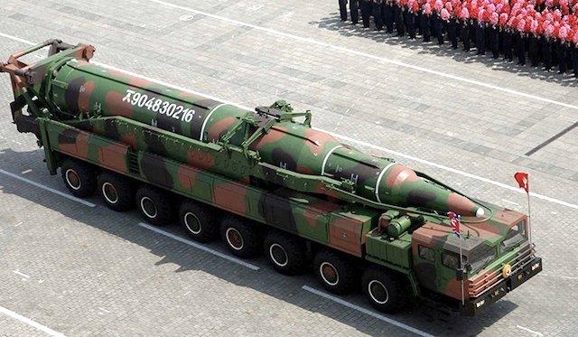 missile balistico - corea del nord