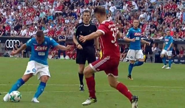 Allianz Arena: la squadra di Sarri si consola con l successo sul Bayern ed il terzo posto