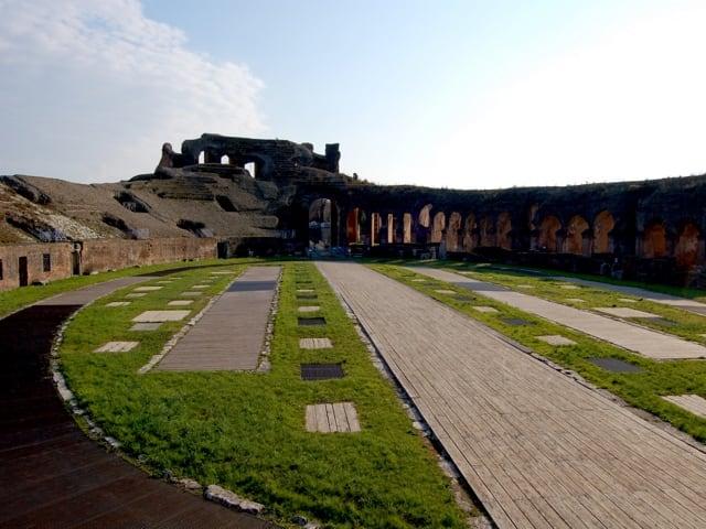 Anfiteatro Campano, anfiteatro di epoca romana nel cuore del territorio casertano-6