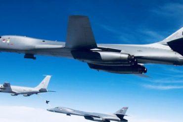 Pentagono invia bombardieri in corea del nord