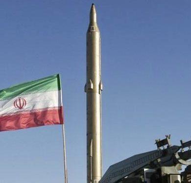 teheran test missile balistico