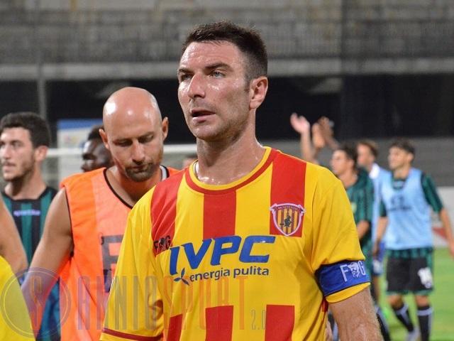 Fabio Lucioni, capitano Benevento positivo doping, la prima sezione Tna lo sospende
