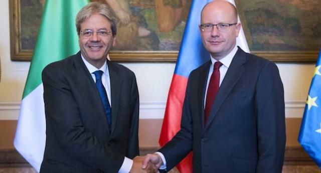 Ius Soli -Gentiloni a Corfù ribadisce impegno del governo