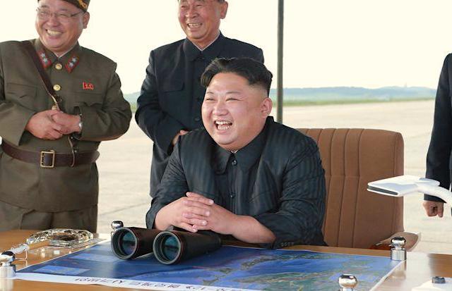 Kim Jong-un- il leader nordcoreano .