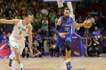 Lituania batte Italia 78-73, agli europei di Basket, primo k o azzurro